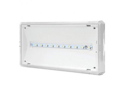 Núdzové sv.LED 1W SE 1h IP65 biele 120L