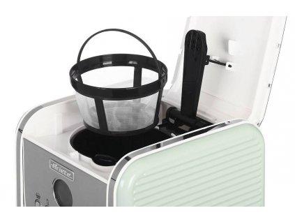 Ariete Vintage překapáv.kávovar, zelený, 1342/04