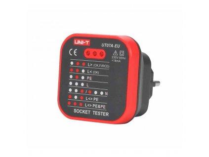 Merací prístroj-tester siete 230V AC UT07A-EU Uni-T
