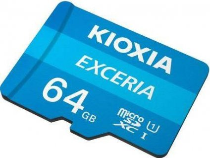 KIOXIA micro SDHC 64GB UHS-I + adaptér