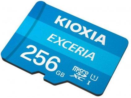 KIOXIA micro SDHC 256GB UHS-I + adaptér