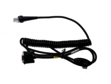 RS232 kabel(+/-12V signals), black, DB9 Male, 3m