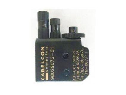CABELCON CX3 náhradné hlavice na kompresný kliešte CX3 all size