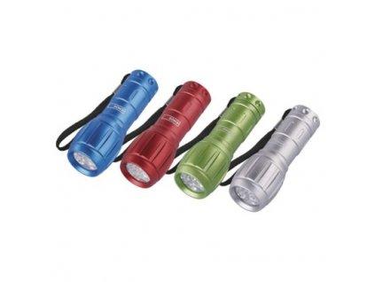 LED ručné kovové svietidlo P3882, 50 lm, 3× AAA, 12 ks