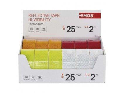 Reflexná páska 25 mm / 2m