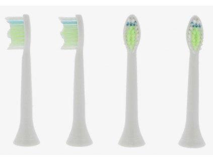 ScanPart Náhradné hlavice zubnej kefky ako Philips