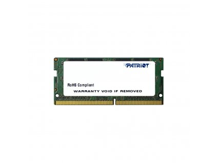 SO-DIMM 4GB DDR4-2400MHz Patriot CL17 512x8