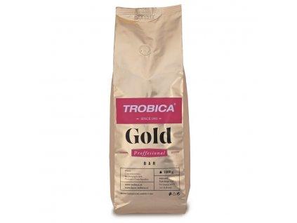 Trobica Gold zrnková káva 1000 g