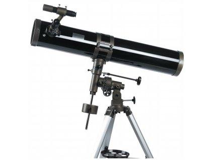 Hvězdářský dalekohled zrcadlový Hütermann HT-900114EQ teleskop 114x900