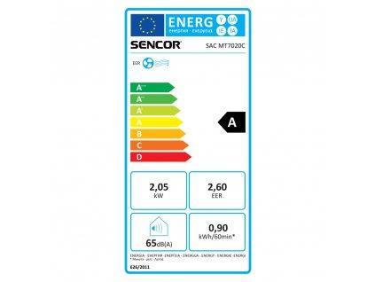 SAC MT7020C mobilná klimatizácia SENCOR