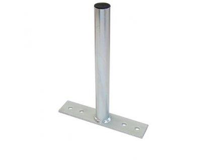 Držiak stožiaru jazdec-spodná časť pás, 30cm/35mm, galvanický zinok