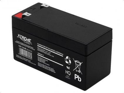 Batérie olovená 12V/3,4Ah, Xtreme 82-214 gélový akumulátor