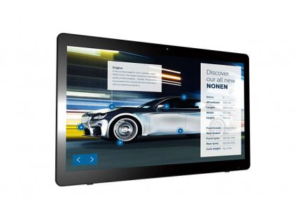 24'' LED Philips 24BDL4151T-AN,FHD,250cd,24/7,touch