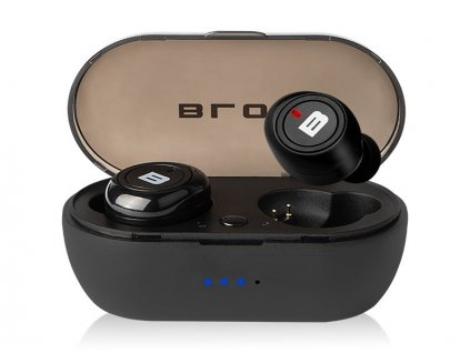 Slúchadlá BLOW Earbuds BTE100 Bluetooth 5.0, čierna