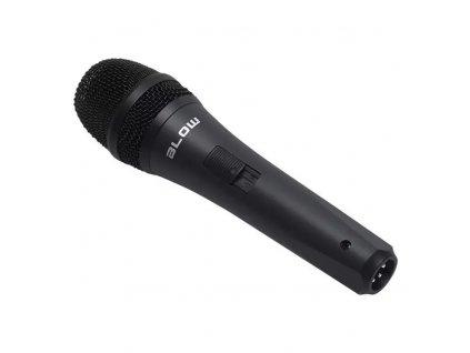 Mikrofón drôtový BLOW PRM 319 BLACK