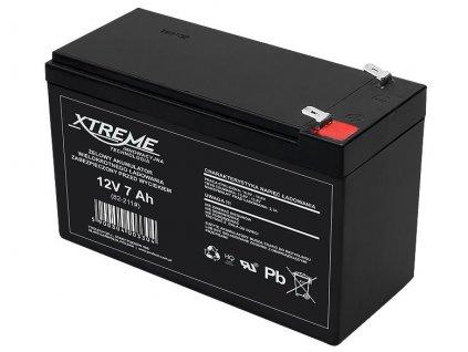 Batérie olovená 12V/7,0Ah Xtreme 82-211 gélový akumulátor
