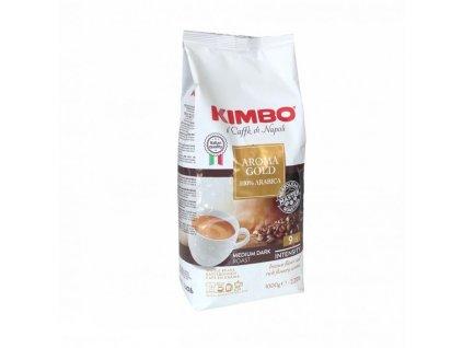 Kimbo Aroma Gold 100% Arabica zrnková káva 1 kg