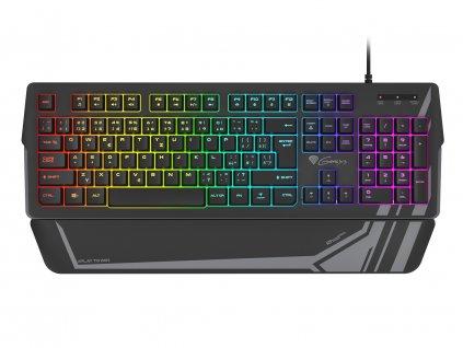 Genesis herní klávesnice RHOD 350 RGB CZ/SK layout, 7-zónové podsvícení