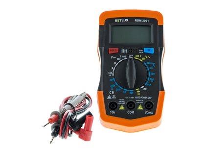 RDM 3001 Digitálny multimeter RETLUX