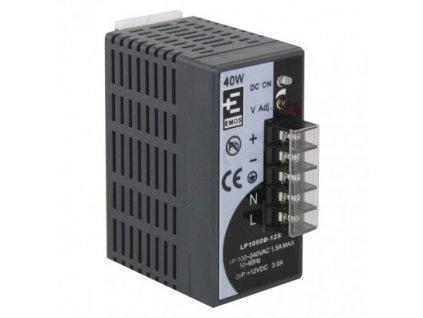 12V zdroj pre videovrátniky a CCTV 3A, pre inštaláciu na DIN