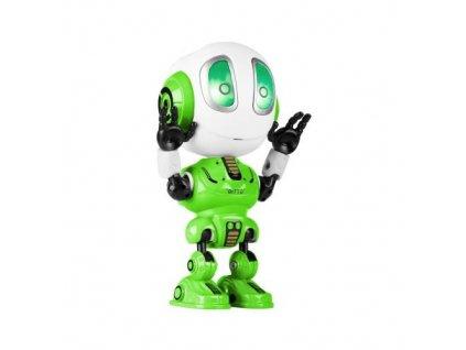 Interaktívna hračka Robot REBEL VOICE GREEN