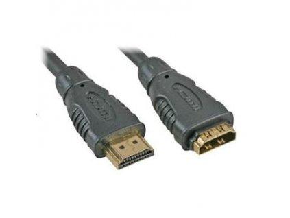 PremiumCord prodlužovací kabel HDMI, M/F, 10m
