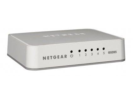 NETGEAR 5-Port Gigabit Ethernet Switch, GS205