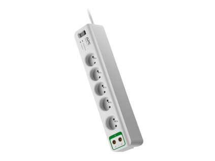 APC Essential SurgeArrest 5 outlets with coax protection 230V France