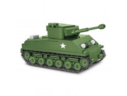 Stavebnica II WW Sherman M4A3E8 Easy Eight, 1:48, 315 k