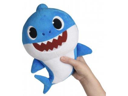 Baby Shark plyšový, hrá a spieva
