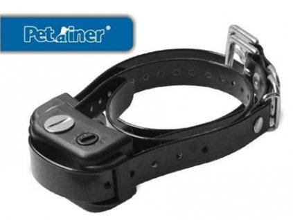Petrainer PET851 výcvikový obojek proti štěkání PETRAINER DOG-B04 s elektrickým impulzem