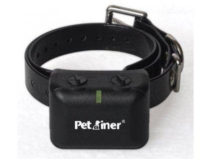 Petrainer PET850 výcvikový obojek proti štěkání s elektrickým impulzem DOG-B05