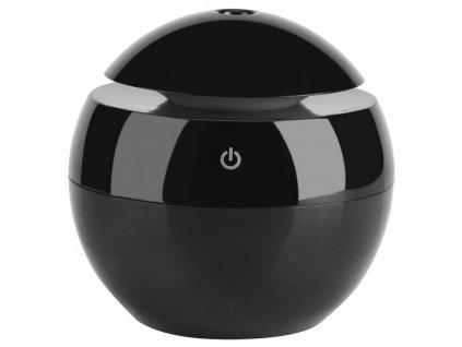 Aroma difuzér Hütermann Y01 čierny - 130ml, ultrazvukový, USB