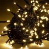 Vianočná reťaz teplá biela IP44 10m 8 režimov REBEL