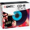CD-R 700MB 52x Vinyl Slim 10pack EMTEC
