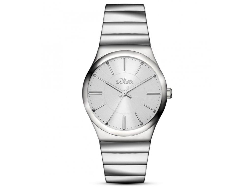 52a0da597 Dámske hodinky s.Oliver Silver SO-3116-MQ eLuxe.sk | 48,90 €