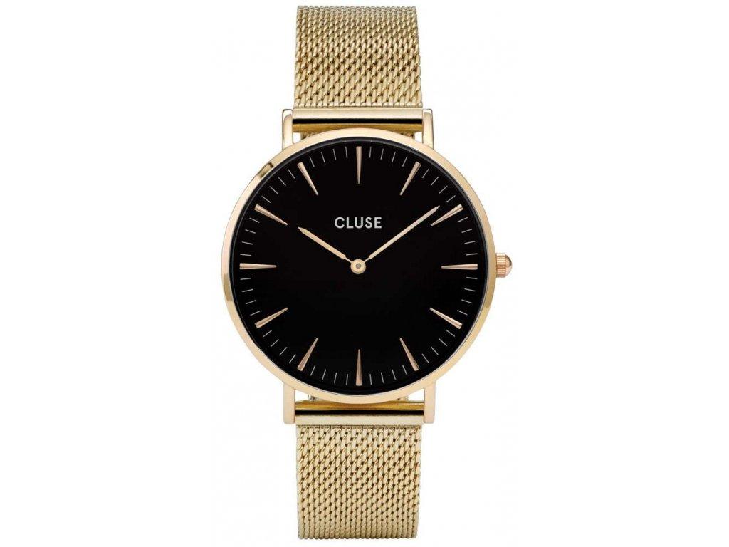 cluse boheme mesh gold cl18110