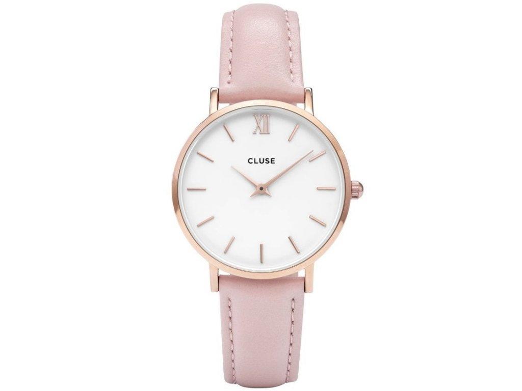 hodinky damske cluse minuit pink cl30001