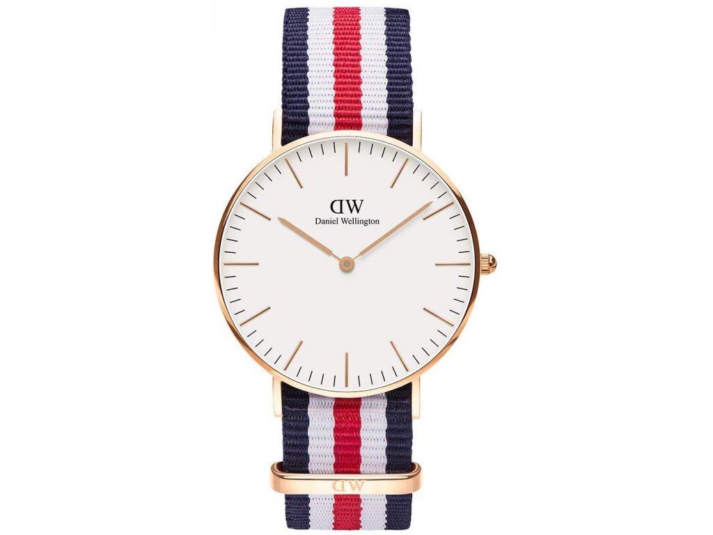 daniel wellington classic canterbury damske hodinky dw00100030