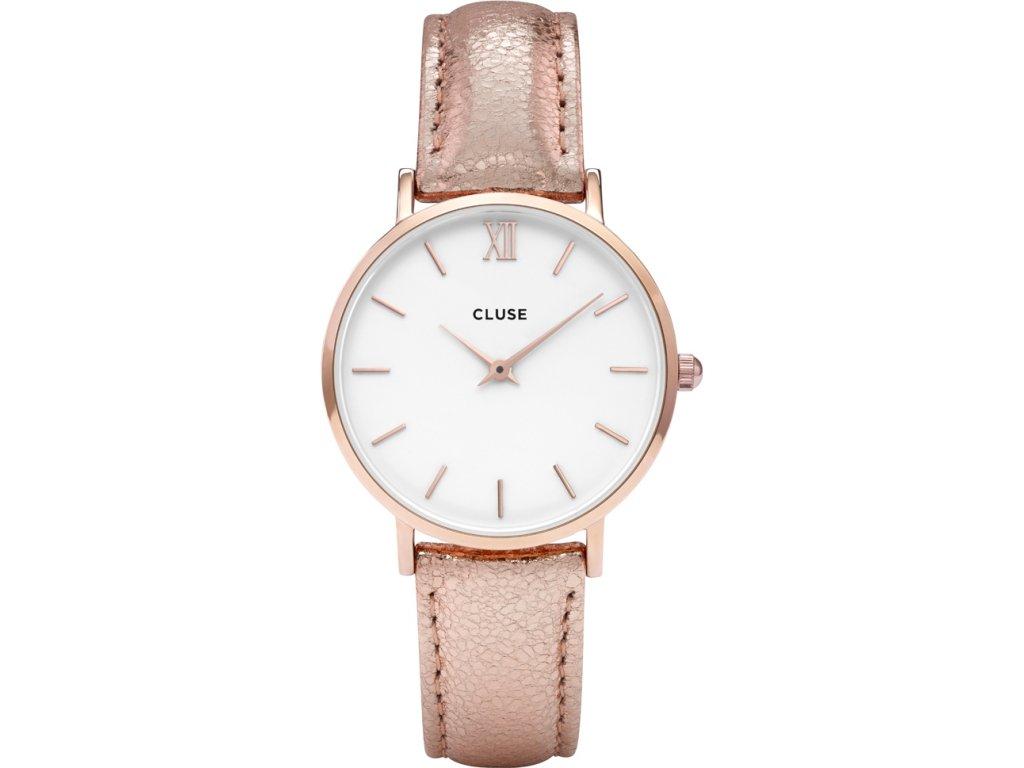 hodinky damske cluse minuit rose cl30038