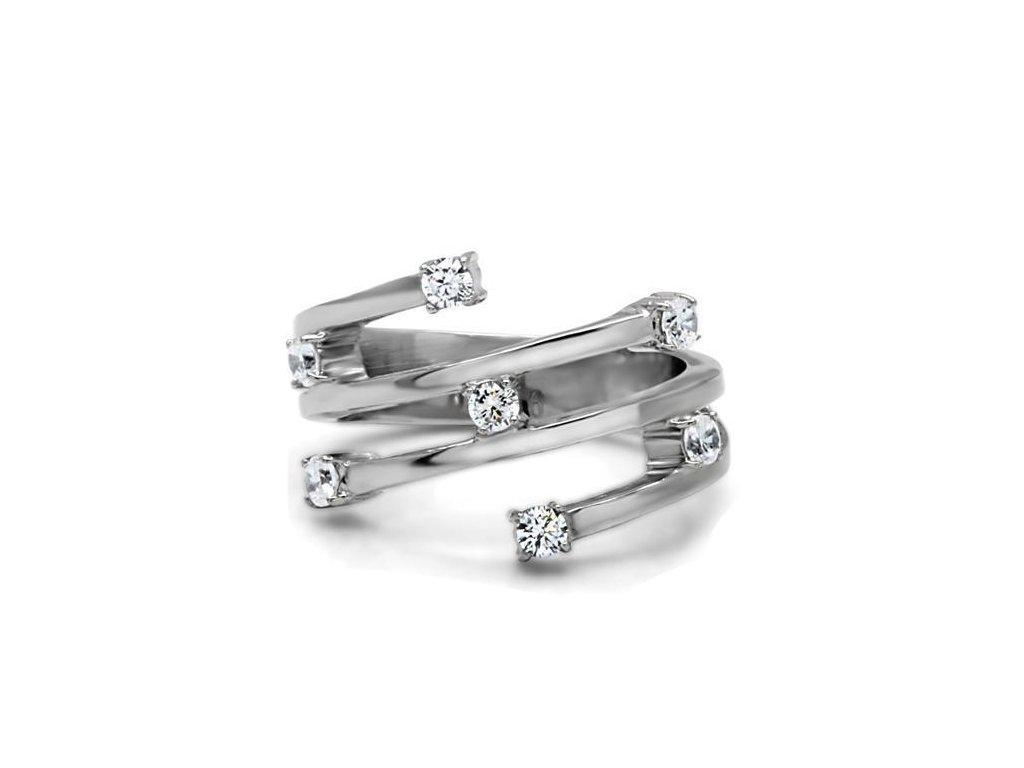 Prsteň z ušľachtilej ocele SR0173
