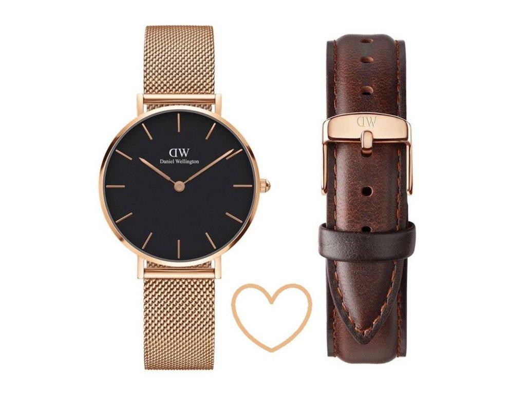 damske hodinky daniel wellington classic petite dw00100161