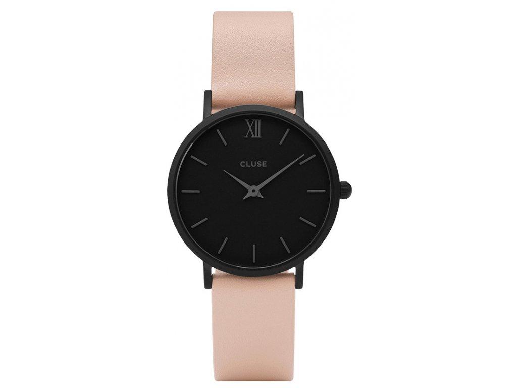 hodinky cluse minuit mesh black cl30027