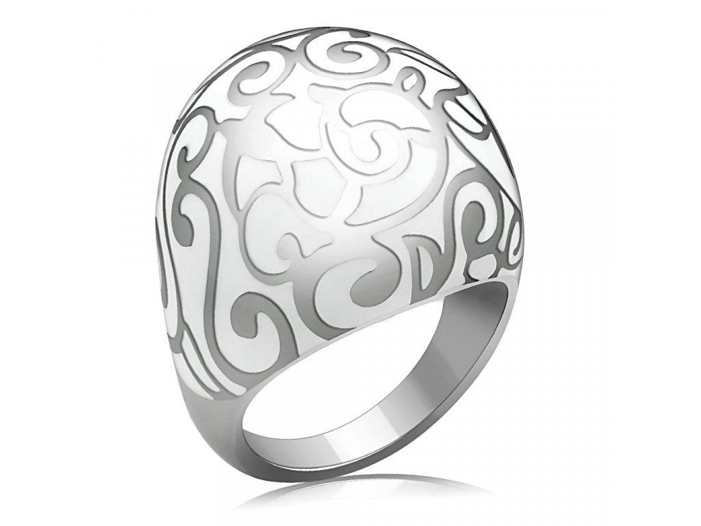 damsky ocelovy prsten sr0215
