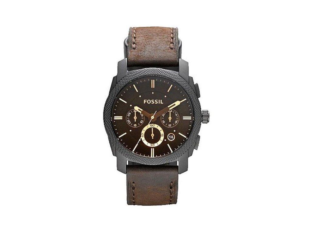 panske hodinky fossil machine fs4656