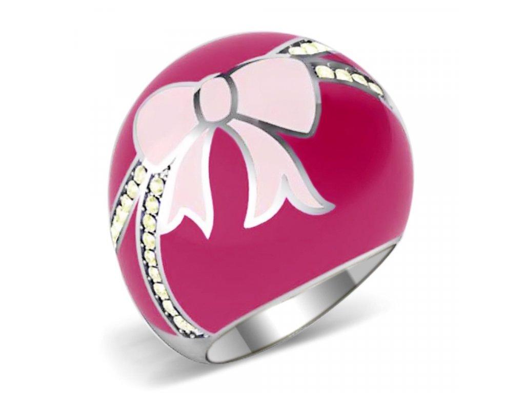 damsky ocelovy prsten sr0246