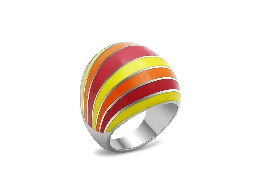 damsky ocelovy prsten sr0255