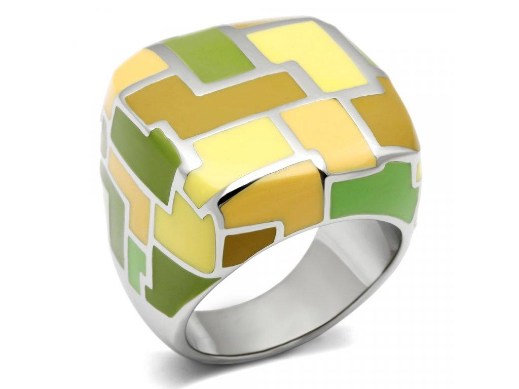 damsky ocelovy prsten sr0259