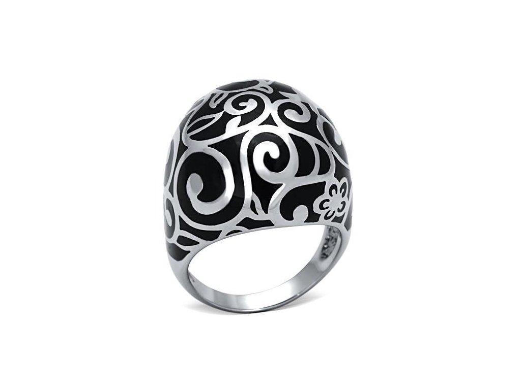 damsky ocelovy prsten sr0844