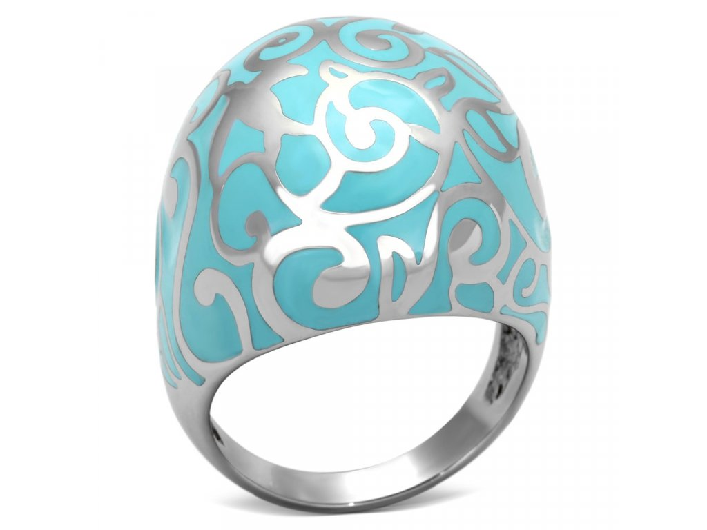 damsky ocelovy prsten sr0845